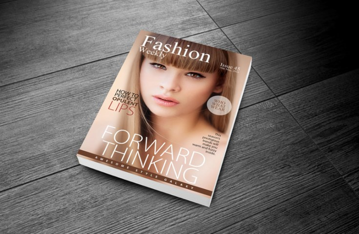 Free Fashion Magazine Cover Template