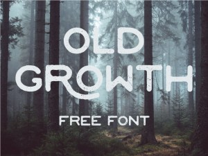 Free Old Growth Font
