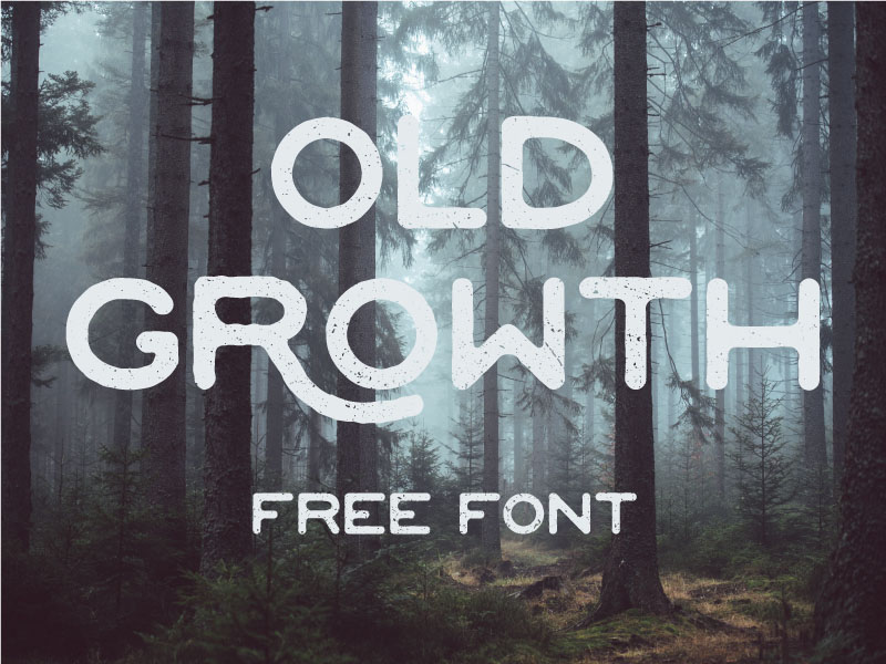 Old Growth Free Typeface
