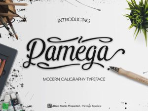 Pamega Free Script Font