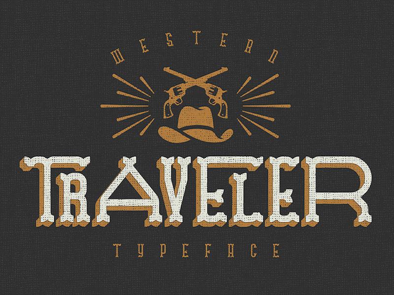 Traveler : Free Western Style Font