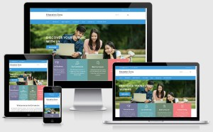 Education Zone : Free University Wordpress Theme