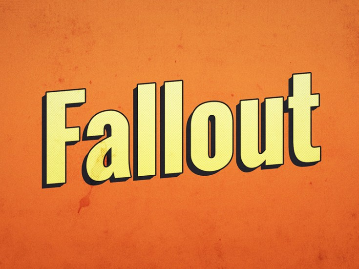 Free Fallout Text Effect