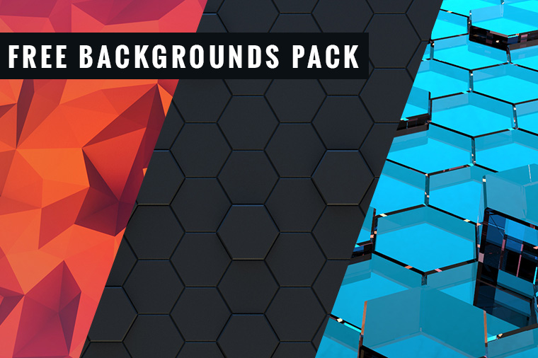Free Backgrounds Pack in Different Styles