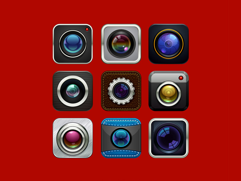 9 Free Camera Icons