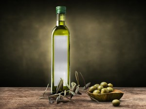 Free Olive Oil Bottle Mockup PSD