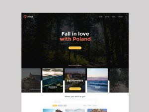 Polind : Free Tourism PSD Web Template