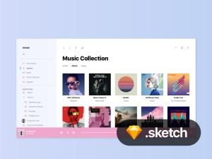 Windows 10 Music UI Design