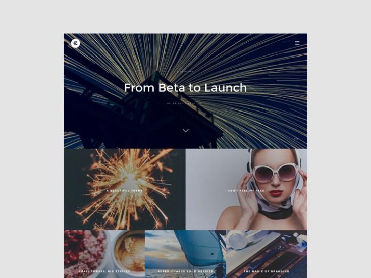 Essay : Elegance Blog Wordpress Theme