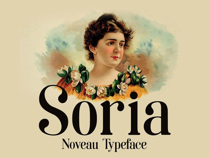 Soria Free Typeface