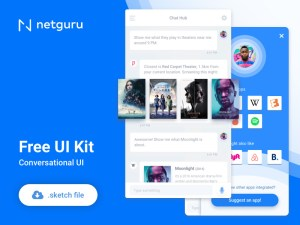 Conversational Free UI Kit