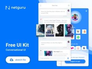 Conversational Free UI Kit