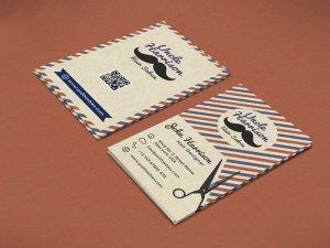 Free Barbershop Business Card Template