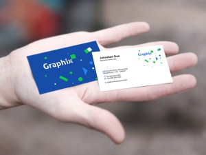 Free Business Card Mockup In Hand