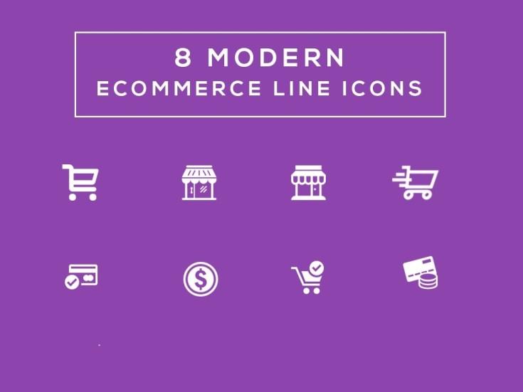 Free Ecommerce Line Icons