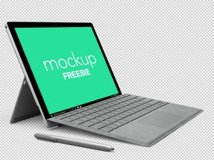 Free Microsoft Surface Mockup