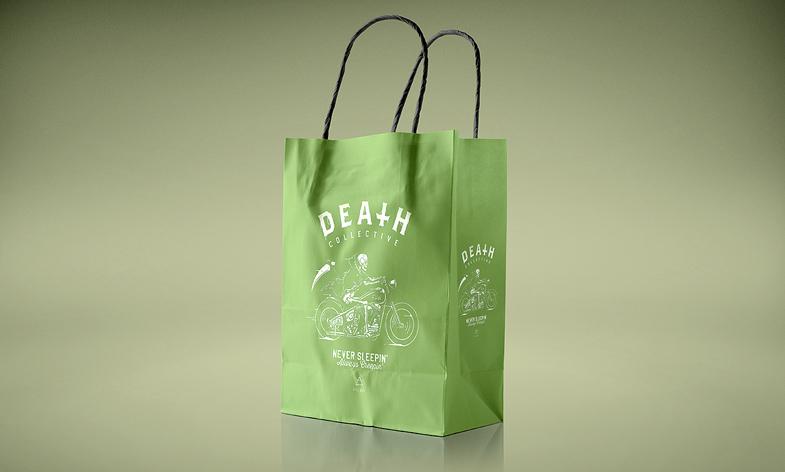 Realistic Paper Bag Mockup