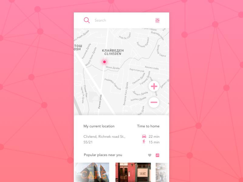 Free Location Tracker App Design