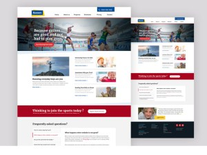 Runners Free Sport Event PSD Template