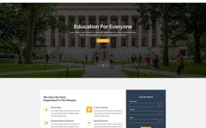 Eduguide : Free Education PSD Web Template