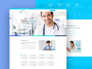 Medic : Free Medical PSD Web Template