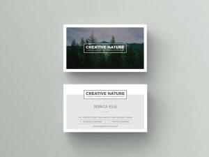 Art Business Card Template