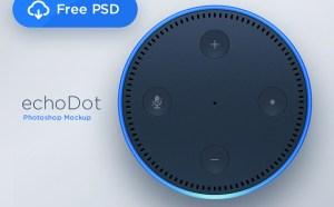 Echo Dot PSD Template