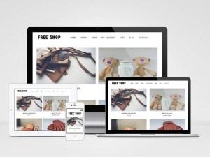 Free Shop Woocommerce Wordpress Theme