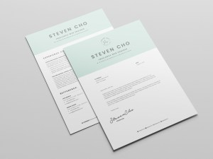 Free Simple Resume and Cover-letter Template