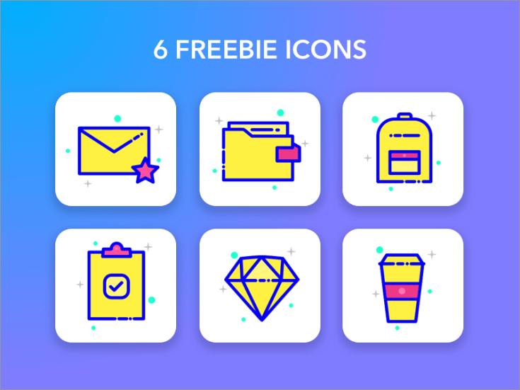 Freebie Sketch Icons