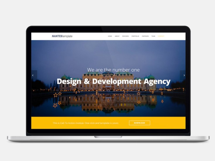Nantes : Elegant and modern Multipurpose HTML Template