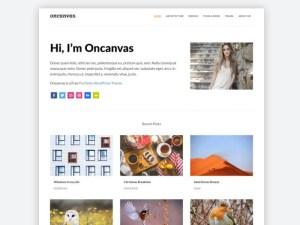 Free Minimal Portfolio Wordpress Theme