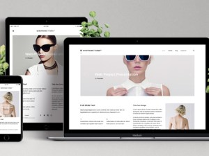 Free Responsive Web Showcase Mockup