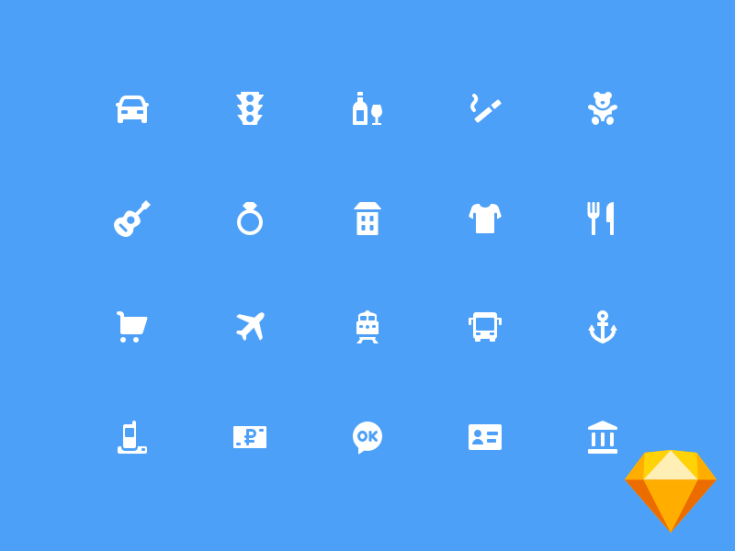 75 Free MCC Icons for Banking Apps