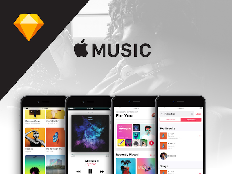 Apple Music Screen UI