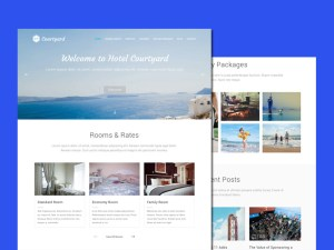 Courtyard Wordpress Theme