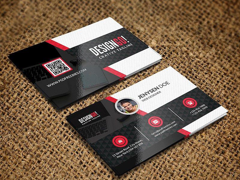 Free Creative Modern Business Card Template