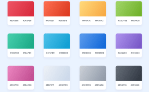 Free Desktop Gradients UI Sketch