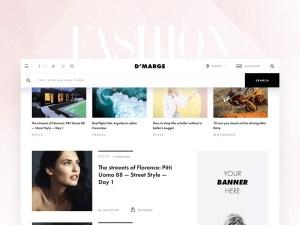 Fashion News Web Template