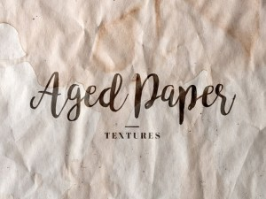 Free Aged Paper Textures