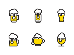 Free Beer Icon Set