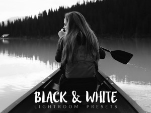 25 Free Black and White Lightroom Presets