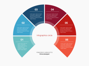 Free Circle Infographic Template