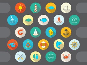 Free Sea Icon Set
