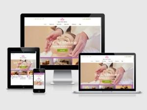 Free Spa and Salon Wordpress Theme