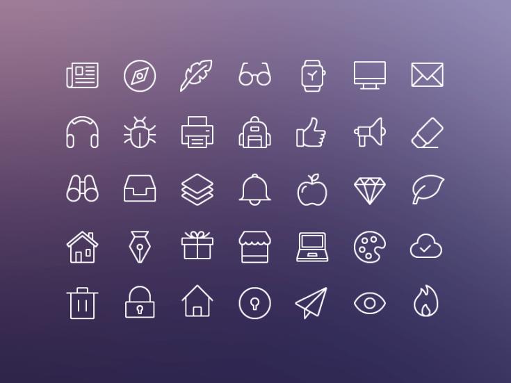 Free iOS Edge Icon Set