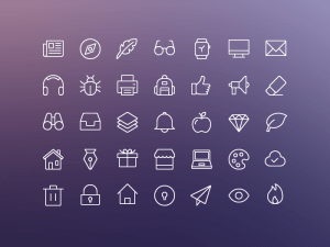 Free iOS Edge Icon Set