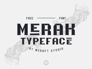 Merak Free Font