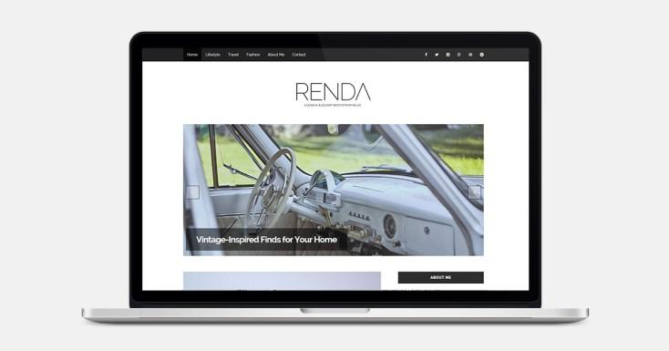 Renda Travel Bootstrap Template