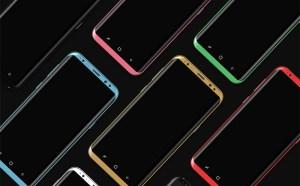 Free Samsung Galaxy S8 Vector Mockup